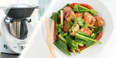 12WBT Thermomix Recipe – Ginger Salmon Stir-Fry