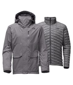 Thermoball Snow Triclimate Parka in urban navy, size Large ($349)