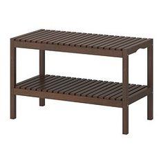 MOLGER Banco - marrón oscuro - IKEA