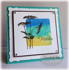 Sweet 'n Sassy Stamps: Acrylic block watercoloring tutorial