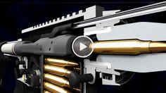 How an AR-15 Rifle Works – Great 3D Animation