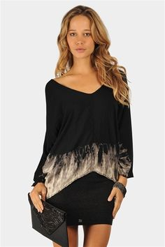 Smoke And Mirrors Tunic - Black Necessary Clothing http://www.studentrate.com/StudentRate/fashion/fashion.aspx