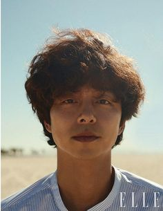 Here are the rest of the shots for Gong Yoo's pictorial for the January issue of Elle Korea. Despite only seeing all that hair, I like that he is playful and cheeky in these snaps. Asian Actors, Korean Actors, Goblin Gong Yoo, Yoo Gong, Korean Shows, Goong, Chang Min, Korean Entertainment, Kdrama Actors