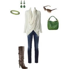 i totally just created this outfit on Polyvore!!! Love that site!!!