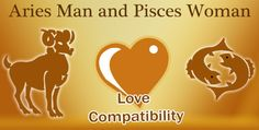 Love match compatibility between Aries man and Pisces woman. Read about the Aries male love relationship with Pisces female.