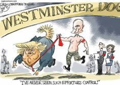 Pat Bagley (2017-02-16) USA - Russie: Trump, Putin ÷÷÷Salt Lake Tribune