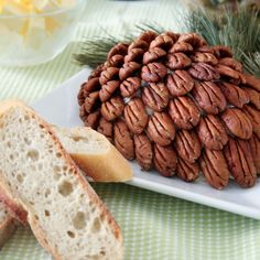 Cream Cheese Pine Cone-2 by Sonia! The Healthy Foodie, via Flickr
