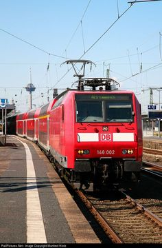 RailPictures.Net Photo: 146 002 Deutsche Bahn AG BR 146 at Cologne, Germany by Manfred Hintz