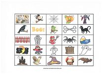 halloween bingo and other free halloween games from wwwpreschool printable activities - Preschool Halloween Bingo