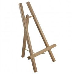 Loxley Economy Easel Display A-Frame for sale online High Dining Table, High Top Tables, Small Tables, Wedding Ceremony Music, Wedding Table, Chalkboard Easel, Indian Table, Table Easel, Display Easel