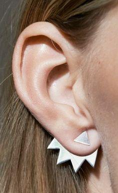 Boucles d'oreilles originales idée créative