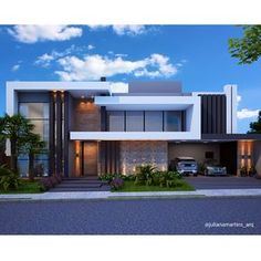 Architecture Discover Image may contain: house cloud sky and outdoor Modern House Facades Modern Architecture House Architecture Design Morden House Modern Villa Design Small Modern Home Modern Homes House Front Design Modern Mansion Modern House Facades, Modern Architecture House, Modern House Plans, Architecture Design, Bungalow House Design, House Front Design, Morden House, Modern Villa Design, Luxury Homes Dream Houses