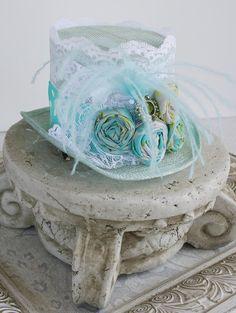 FELICITY Victorian inspired mini top hat, tea party hat, steampunk wedding hat