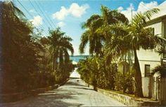 Harbour Island, Bahamas. A long time ago.