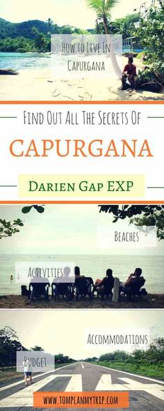 Capurgana in Colombia is a small town in the Darian Gap. Read our detailed guide to get everything you need to know about Capurgana. A paradise in Colombia. Where to sleep in Capurgana, how to get there. Things to do Around Capurgana