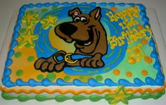 scooby doo sheet cake - Google Search