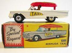 bermuda taxis | Bermuda Taxi by Corgi