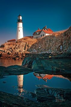 Portland Head Light, Cape Elizabeth, Maine   Flickr - Photo Sharing!
