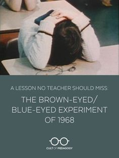 I don't think any teacher today would get away with this kind of experiment, but showing this video to your students will likely impact them with almost the same intensity as the original simulation had on those kids in 1968.
