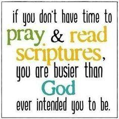 Pray & read