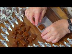 Lahodné karamelové cukríky s iba 3 ingredienciami - YouTube