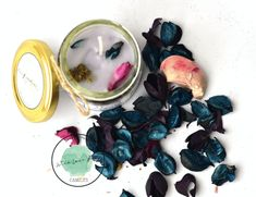 Beautiful Handmade Candle , infused with Lavender fragrances and with beautiful lavender scented potpourri . Lavender Scent, Jar Candle, Handmade Candles, Potpourri, Fragrances, Purple, Beautiful, Color, Colour