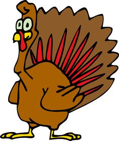 turkey-cartoon-drawing - Free clip art images, searchable & sorted by category. Bird Coloring Pages, Coloring Pages For Kids, Adult Coloring, Thanksgiving Pictures, Vegan Thanksgiving, Turkey Cartoon, Birthday Wishes For Him, Funny Birthday, Christmas Turkey