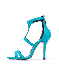 bccb83d92b905 Aqua Leather Simona Sandals  OscardelaRenta