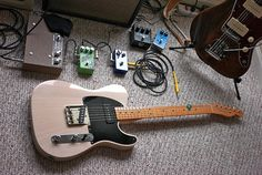 Modified Fender Esquire, October, 2009 by Maggie Osterberg, via Flickr