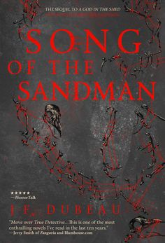 Tony has dropped a couple of new books over the past few days. First up is SONG OF THE SANDMAN, J-F Dubeau's sequel to A GOD IN THE SHED, coming soon from Inkshares!