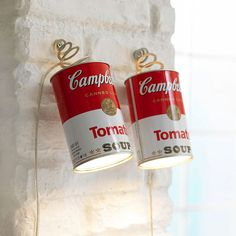 Campbell's Soup Can Lights