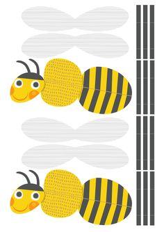 Free printable pattern | lasten | lapset | kesä | ötökät | hyönteiset | idea | askartelu | kädentaidot | käsityöt | tulostettava | paperi | koti | leikki | DIY | ideas | kids | children | crafts | bugs | home | Pikku Kakkonen
