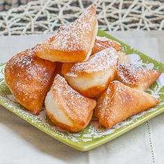 Mandazi originated in Eastern Africa and are still eaten in Tanzania and Kenya. Eaten as a snack, or as a side dish, this fried bread is very versatile.