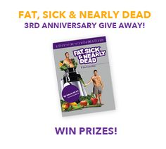 The Fat, Sick & Nearly Dead Big Giveaway with #JoeCross His movie was an inspiration to me and I have lost 15lbs so far in 6wks