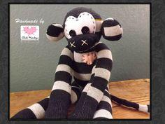 Handmade sock monkey: Smith  The original 100% by ChikiMonkeys
