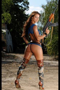 Rifle Babes — Get more Tactical Girls Here...