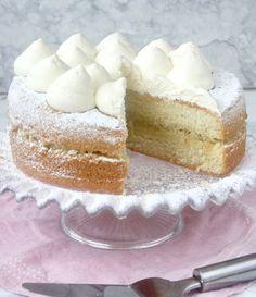 semmeltårta3 Cake Bites, Fudge Brownies, Fika, Vanilla Cake, Frozen, Food And Drink, Gluten, Sweet, Desserts
