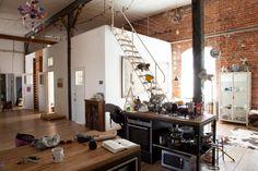 Freunde von Freunden — Nadin Maria Rüfenacht — Photographer & Artist , Apartment & Studio, Leipzig — http://www.freundevonfreunden.com/interviews/nadin-maria-rufenacht/