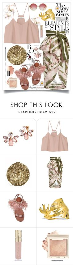 """Summer Garden Vibe"" by jalouze ❤ liked on Polyvore featuring Vera Wang, Marchesa, TIBI, Johanna Ortiz, Miu Miu, Noir Jewelry, Smith & Cult and Bobbi Brown Cosmetics"
