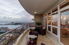 One of a Kind Old San Juan Harbor Vistas › Marina Front Penthouse with Privileged Views — Old San Juan, Puerto Rico › #OSJ #puertorico #luxuryrealestate #prsir