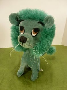 Vintage Kamar Lion Dream Pet, Very Clean, Sawdust Stuffed? 1968