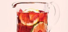 Sunny Sangria Spritzer Recipe  Beverage   alive