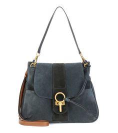 Chloé - Lexa suede crossbody bag