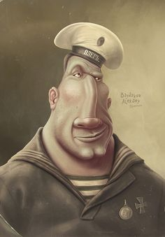 commercial and personal work 2013 by Aleksey Baydakov, via Behance