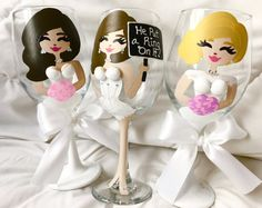 Items similar to Personalized Wedding Reception Glasses,Customized Will You Be My Bridesmaid Box,Bridesmaid Wine Glasses,Bachelorette Party Decorations, Cups on Etsy Bridal Shower Favors, Bridal Showers, Wedding Favors, Wedding Reception, Wedding Ideas, Bridesmaid Wine Glasses, Wedding Glasses, Bachelorette Party Cups, Bachelorette Party Decorations