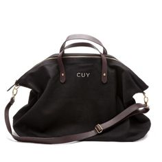 Weekender Bag Black- Weekend Bag Black | Cuyana Shop