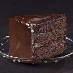 Southern Devil's Food Cake - FineCooking