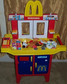 Vintage 1980 S Fisher Price Mcdonalds Drive Thru Fast Food