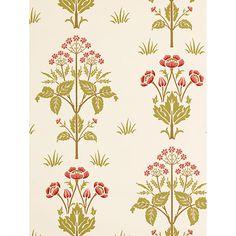 Buy Sanderson Wallpaper, Morris & Co Meadow Sweet Online at johnlewis.com