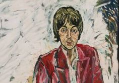 Exhiben juntos por primera vez dos retratos de Paul McCartney